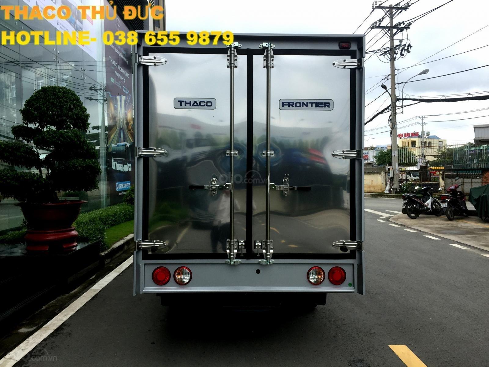 Bán xe tải giá tốt - Kia K250 thùng kín- dài 3,5m- tải 2,4T/ 1,4T- hỗ trợ trả góp 75%- LH 038 655 9879 (7)