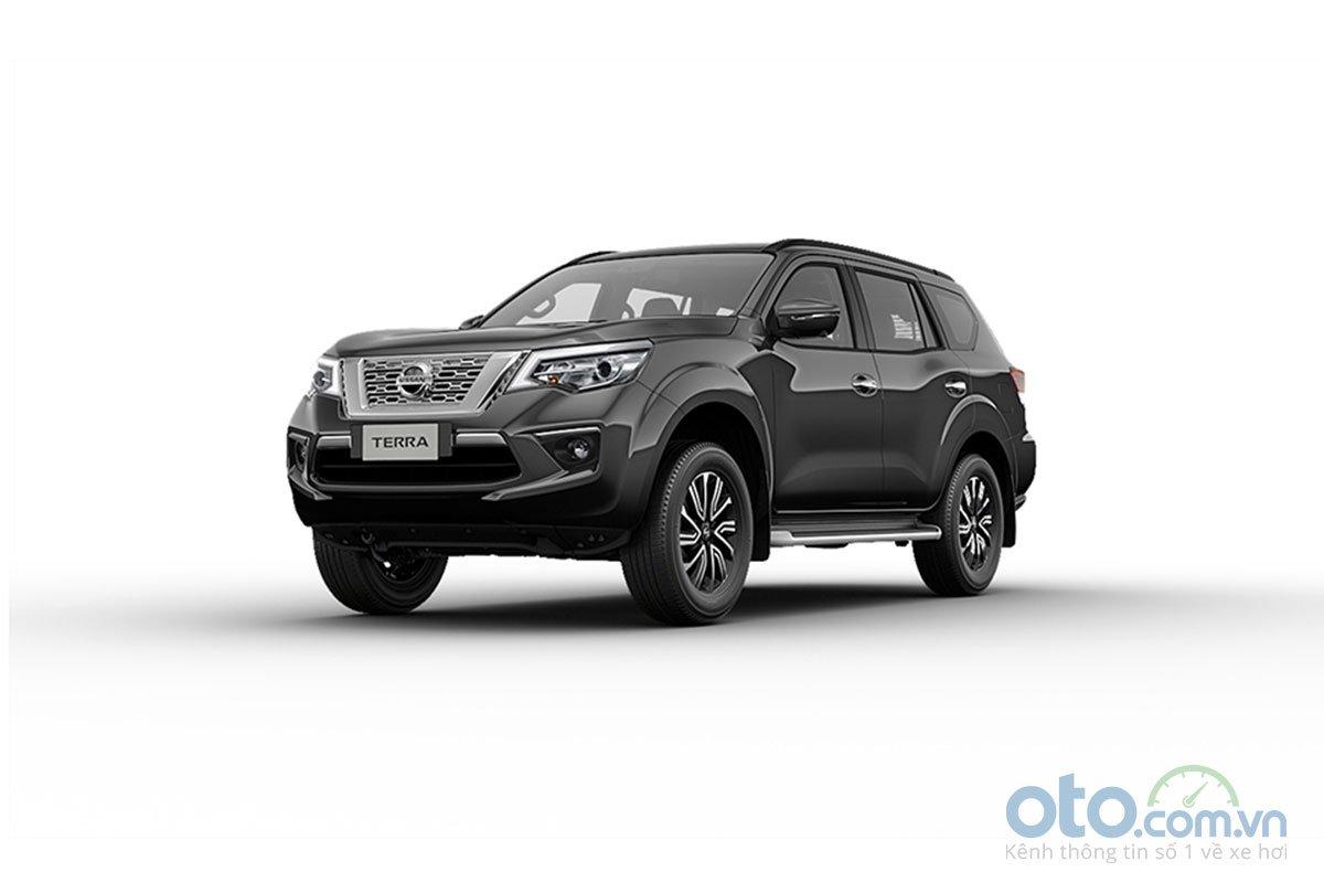 Màu sắc ngoại thất Nissan Terra - Xám Titan.