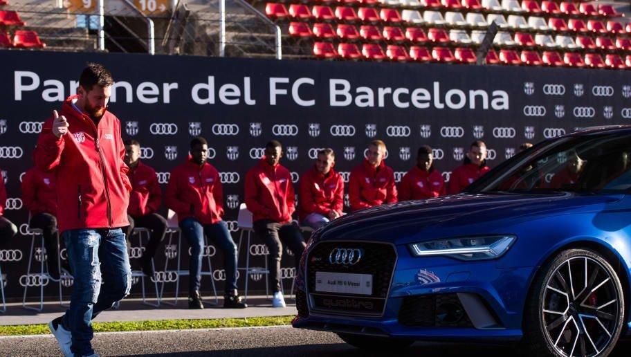 Hợp đồng tài trợ giữa Audi và Barcelona