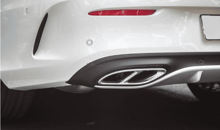 Đánh giá Mercedes-AMG C43 4MATIC Coupe 2019: Cụm ống xả đôi 1
