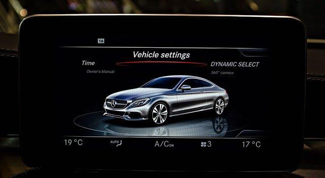 Mercedes AMG C43 4MATIC Coupe 2019 sử dụng Hệ thống giải trí và các tiện ích tiên tiến nhất 1