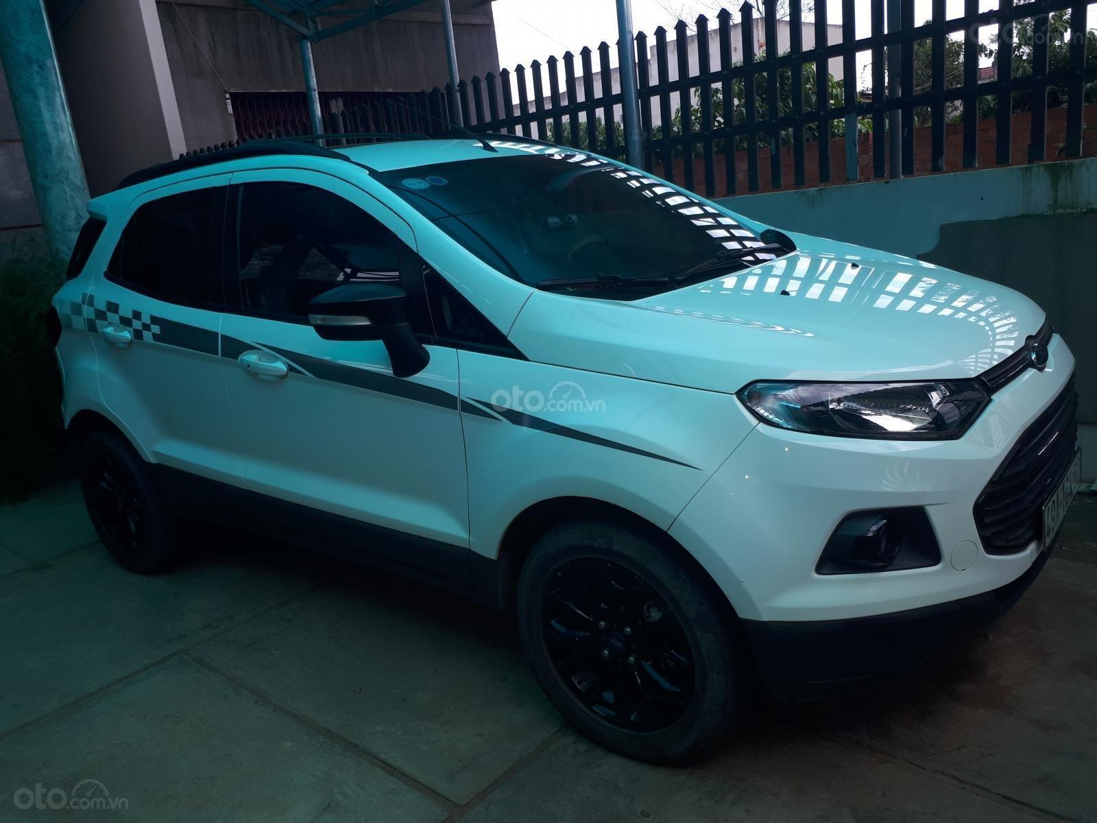 Bán Ford Ecosport Titanium đời 2017, màu trắng, giá 570tr (1)