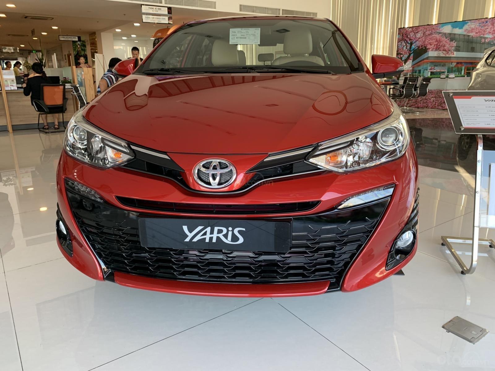 Bán Toyota Yaris 1.5G CVT 2019, màu đỏ, nhập khẩu Thái, 620 triệu - LH: 0943.134.210 (1)