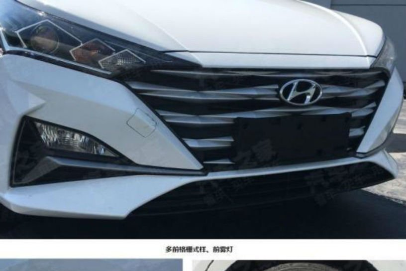 Hyundai Accent nâng cấp mới - lưới tản nhiệt