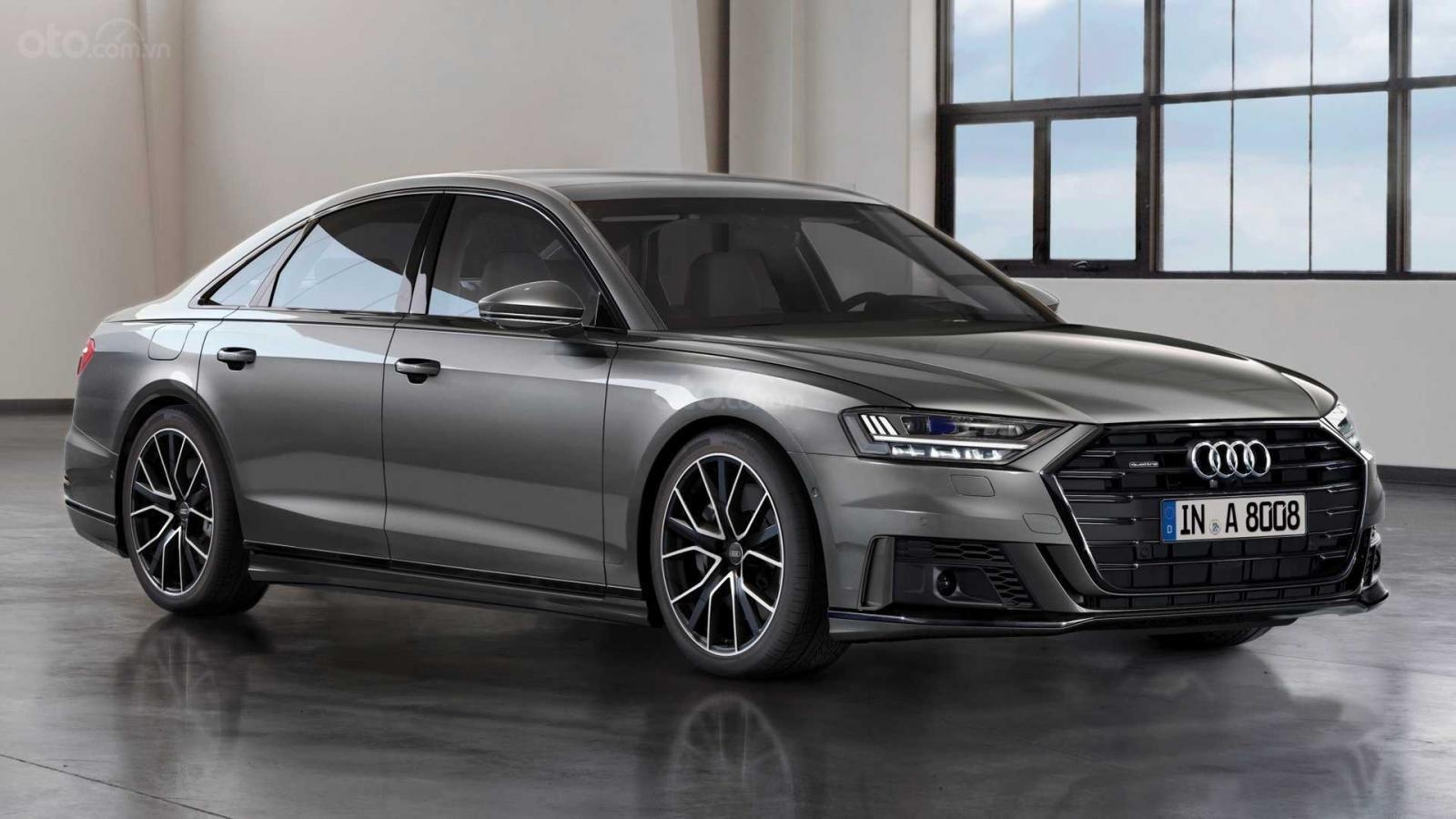 Audi A8 trang bị hệ thống treo thích nghi tự động chạy siêu êm