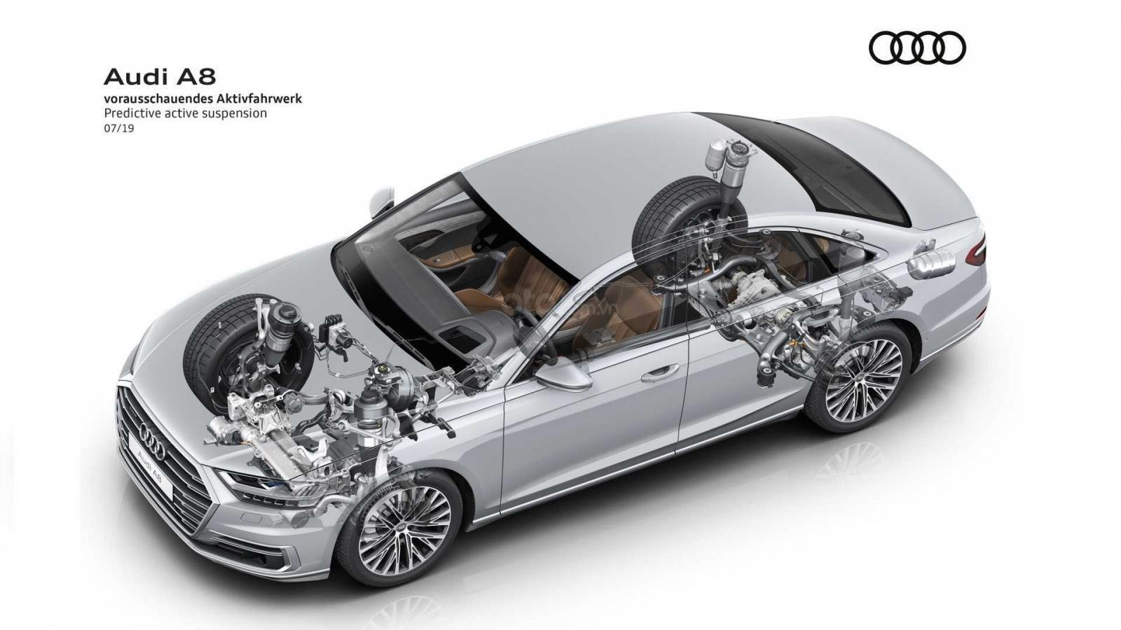 Audi A8 trở nên hấp dẫn hơn với tùy chọn công nghệ mới
