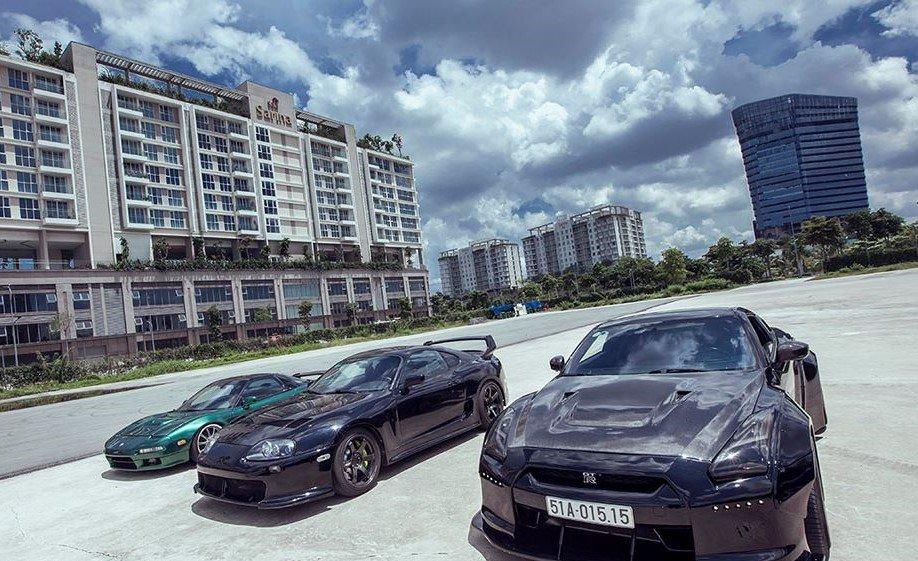 Ngắm bộ tứ xe thể thao JDM nổi tiếng của Nhật của đại gia Sài Gòn a6