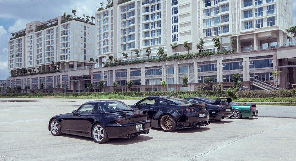 Ngắm bộ tứ xe thể thao JDM nổi tiếng của Nhật của đại gia Sài Gòn a9