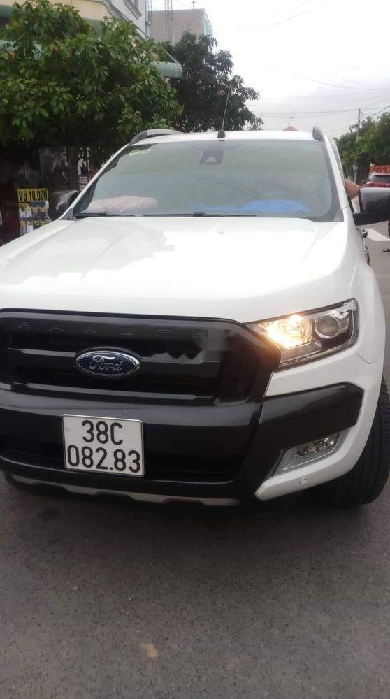 Bán Ford Ranger 2019, màu trắng, nhập khẩu  -0