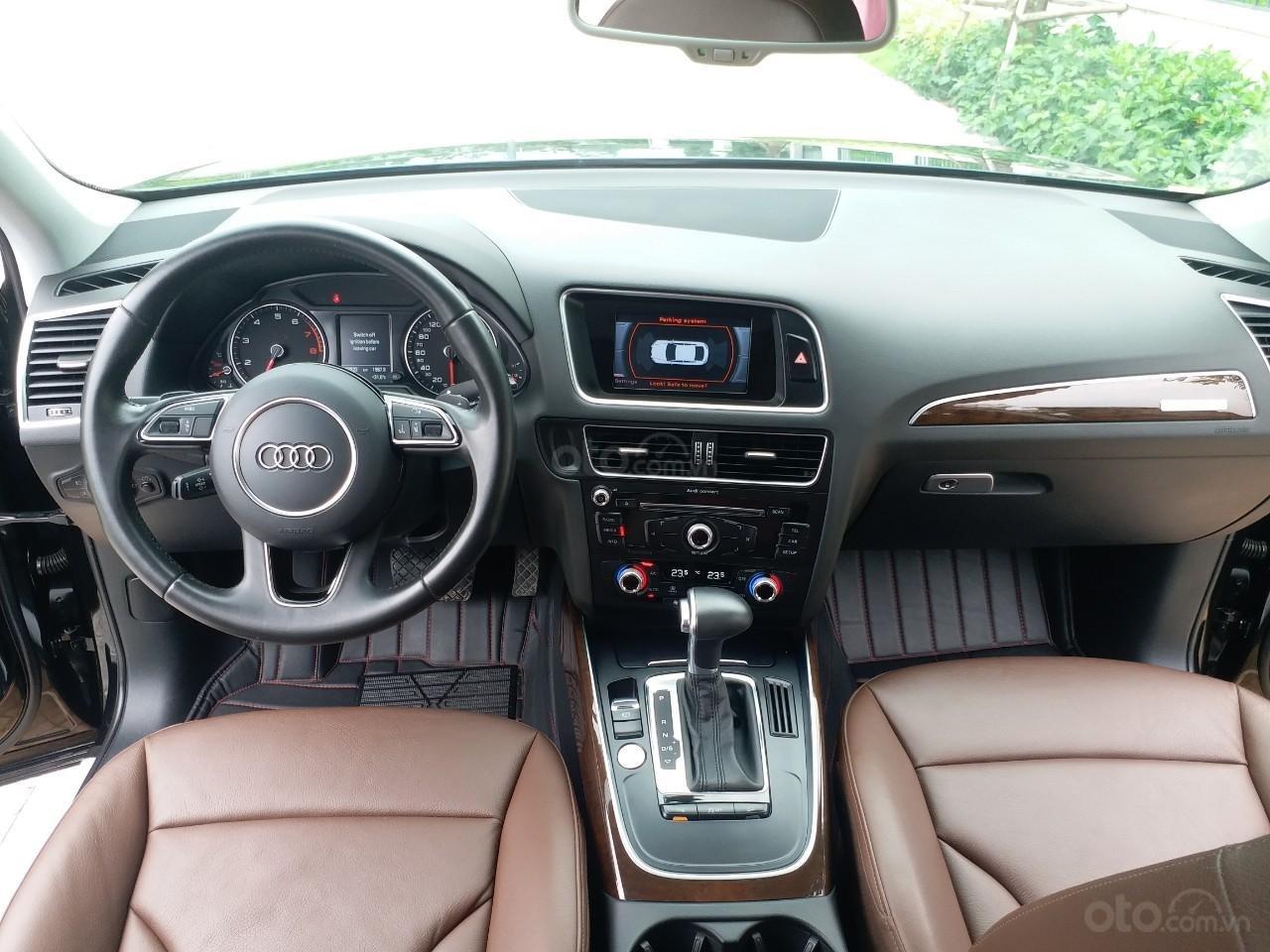 Bán Audi Q5 2.0 TFSI màu đen/ nâu, sản xuất cuối 2015 nhập Đức, đăng ký 2016 tên tư nhân (9)