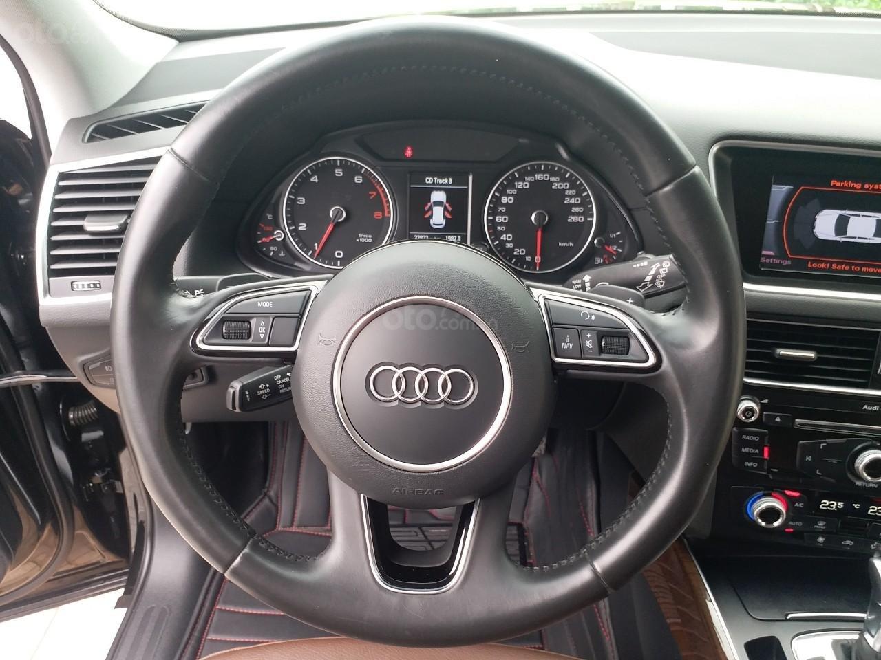 Bán Audi Q5 2.0 TFSI màu đen/ nâu, sản xuất cuối 2015 nhập Đức, đăng ký 2016 tên tư nhân (10)
