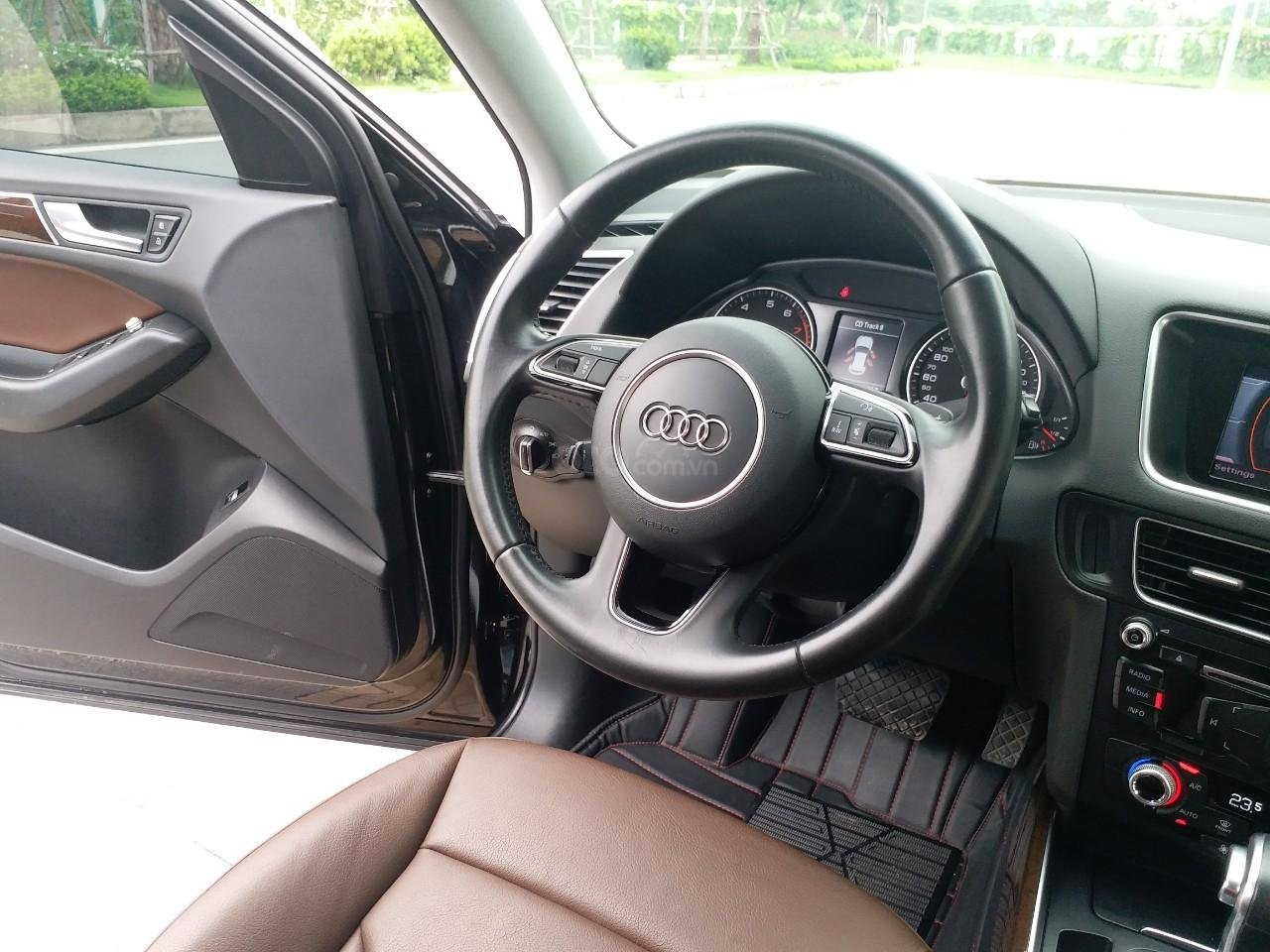 Bán Audi Q5 2.0 TFSI màu đen/ nâu, sản xuất cuối 2015 nhập Đức, đăng ký 2016 tên tư nhân (12)