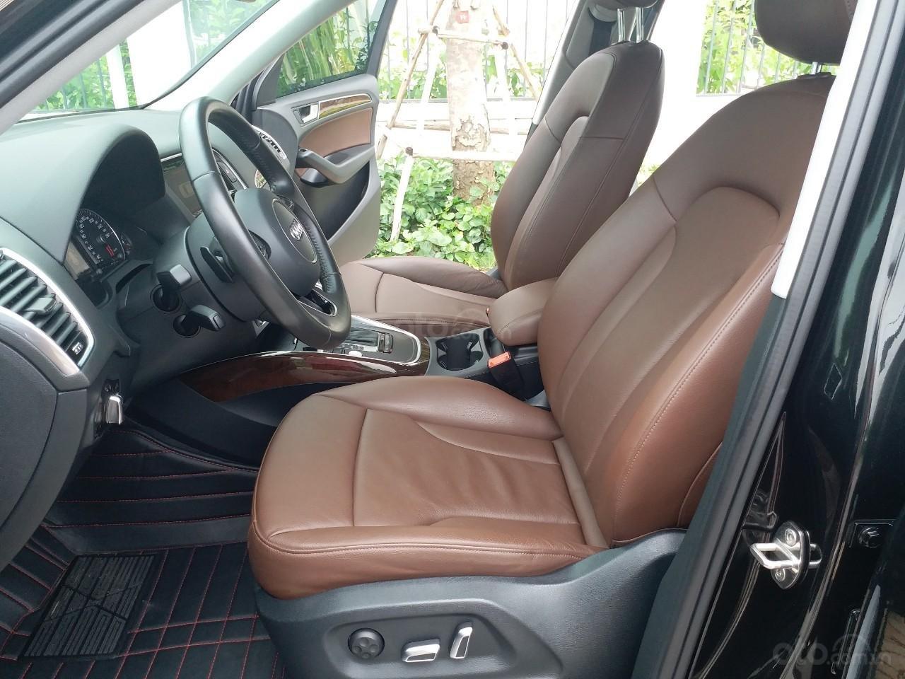 Bán Audi Q5 2.0 TFSI màu đen/ nâu, sản xuất cuối 2015 nhập Đức, đăng ký 2016 tên tư nhân (15)
