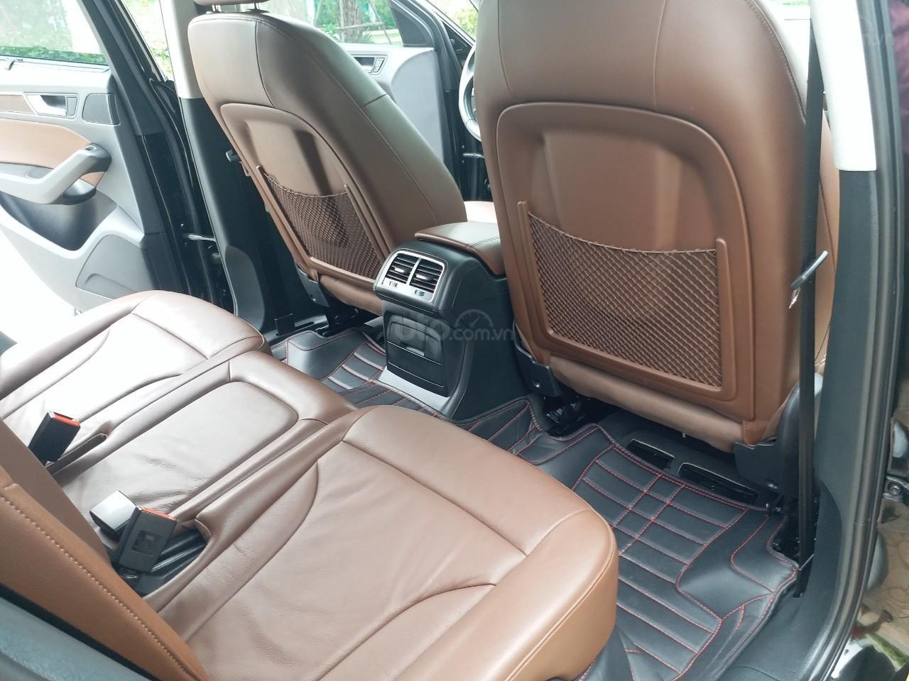 Bán Audi Q5 2.0 TFSI màu đen/ nâu, sản xuất cuối 2015 nhập Đức, đăng ký 2016 tên tư nhân (18)
