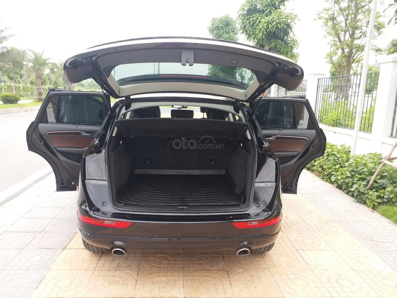 Bán Audi Q5 2.0 TFSI màu đen/ nâu, sản xuất cuối 2015 nhập Đức, đăng ký 2016 tên tư nhân (21)