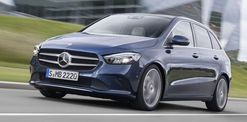 Mercedes-Benz B-Class 2020.