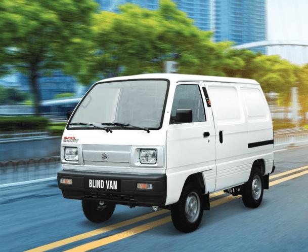 Giá xe Suzuki Blind Van 2020