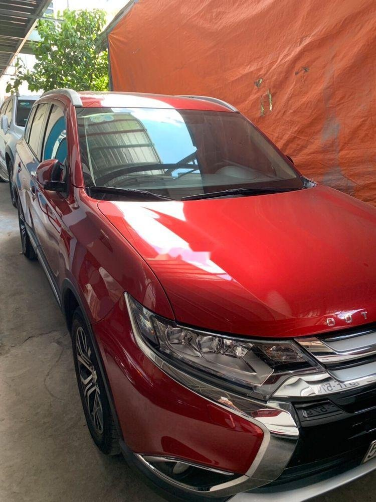 Bán Mitsubishi Outlander Sport đời 2017, màu đỏ, nhập khẩu   (1)