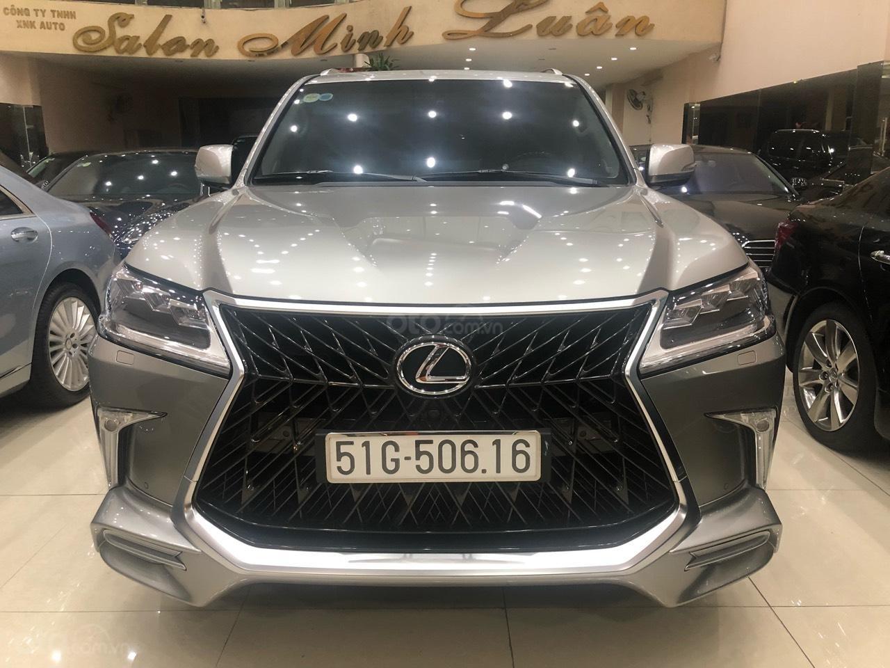 Bán Lexus LX570 đời 2018, màu bạc, nhập khẩu (1)