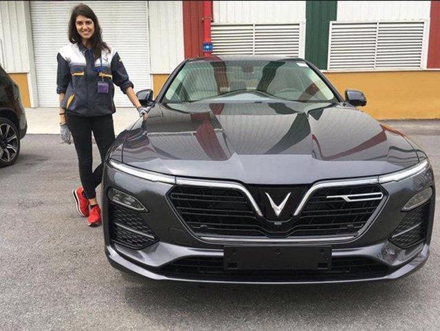 VinFast Lux chạy thử tại châu Âu - Ảnh a1