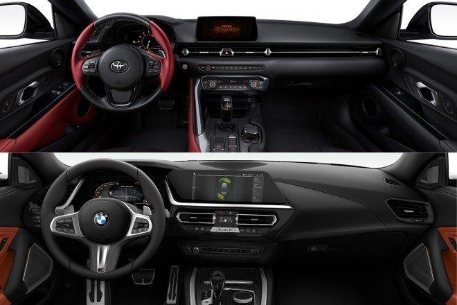 Toyota Supra và BMW Z4.
