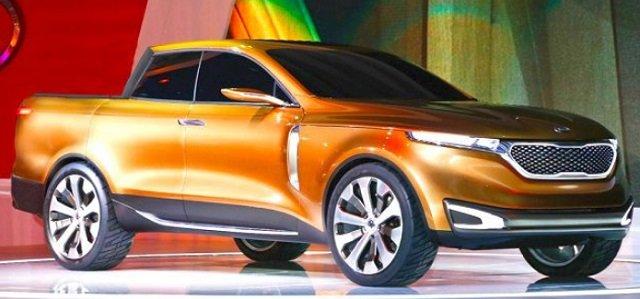 Kia sẽ ra mắt bán tải đọ sức Toyota HiLux và Ford Ranger vào năm 2022