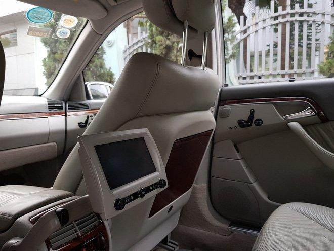 Mercedes-Benz S500 2005 giá 399 triệu, chủ xe bảo đảm 'máy còn chất' a13