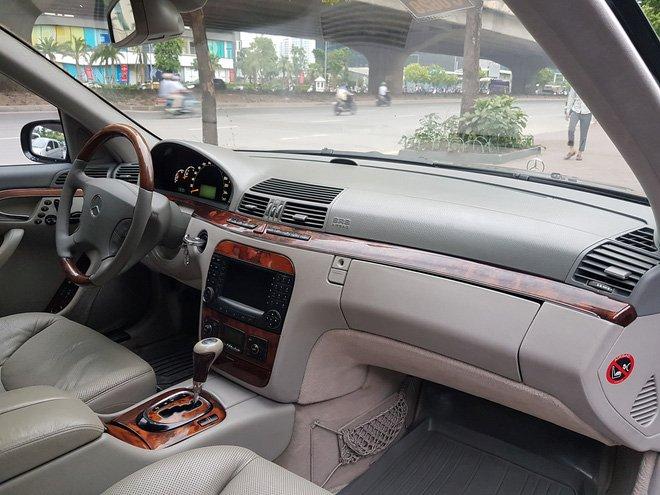 Mercedes-Benz S500 2005 giá 399 triệu, chủ xe bảo đảm 'máy còn chất' a9