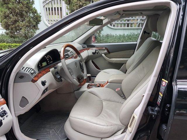 Mercedes-Benz S500 2005 giá 399 triệu, chủ xe bảo đảm 'máy còn chất' a3