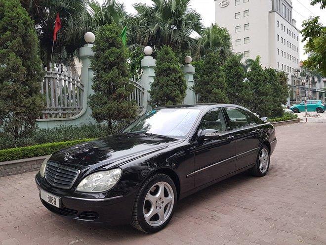 Mercedes-Benz S500 2005 giá 399 triệu, chủ xe bảo đảm 'máy còn chất' a7