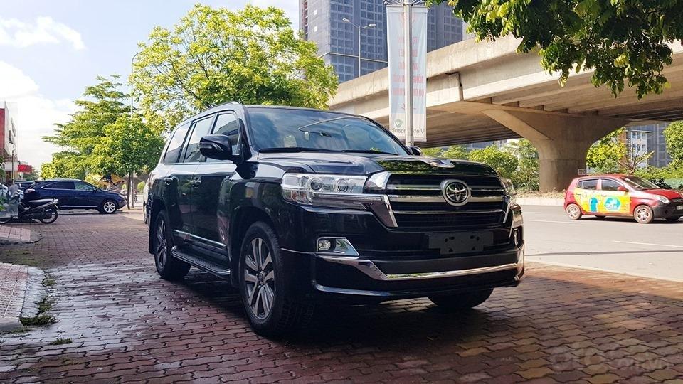 Cần bán Toyota Land Cruiser VXS 4 chỗ sản xuất 2019, màu đen, mới 100% (1)
