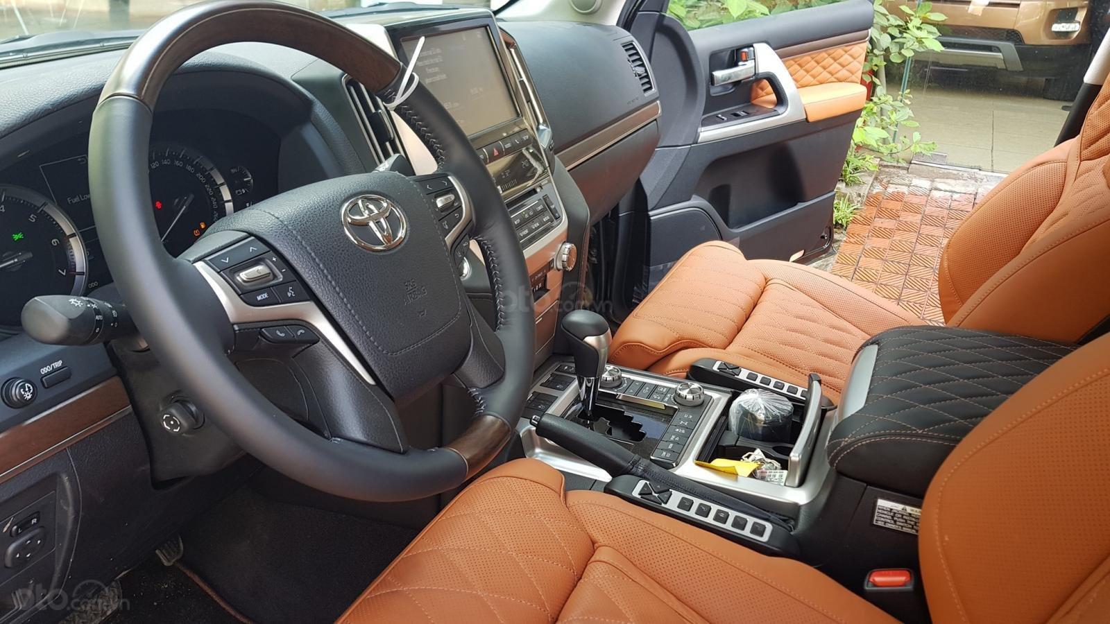 Cần bán Toyota Land Cruiser VXS 4 chỗ sản xuất 2019, màu đen, mới 100% (6)