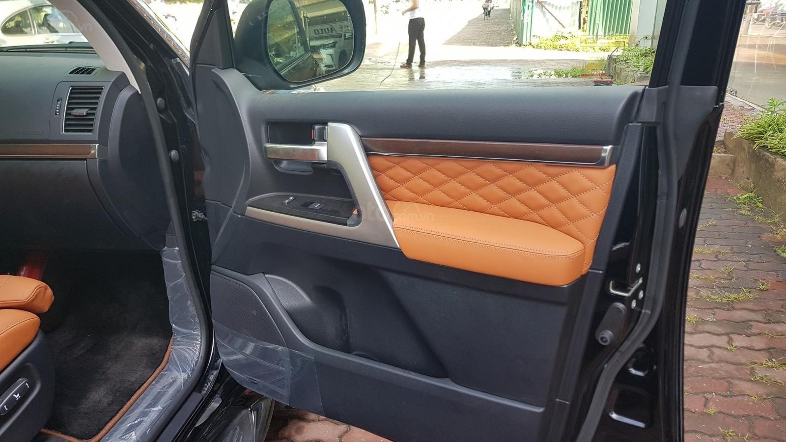 Cần bán Toyota Land Cruiser VXS 4 chỗ sản xuất 2019, màu đen, mới 100% (9)