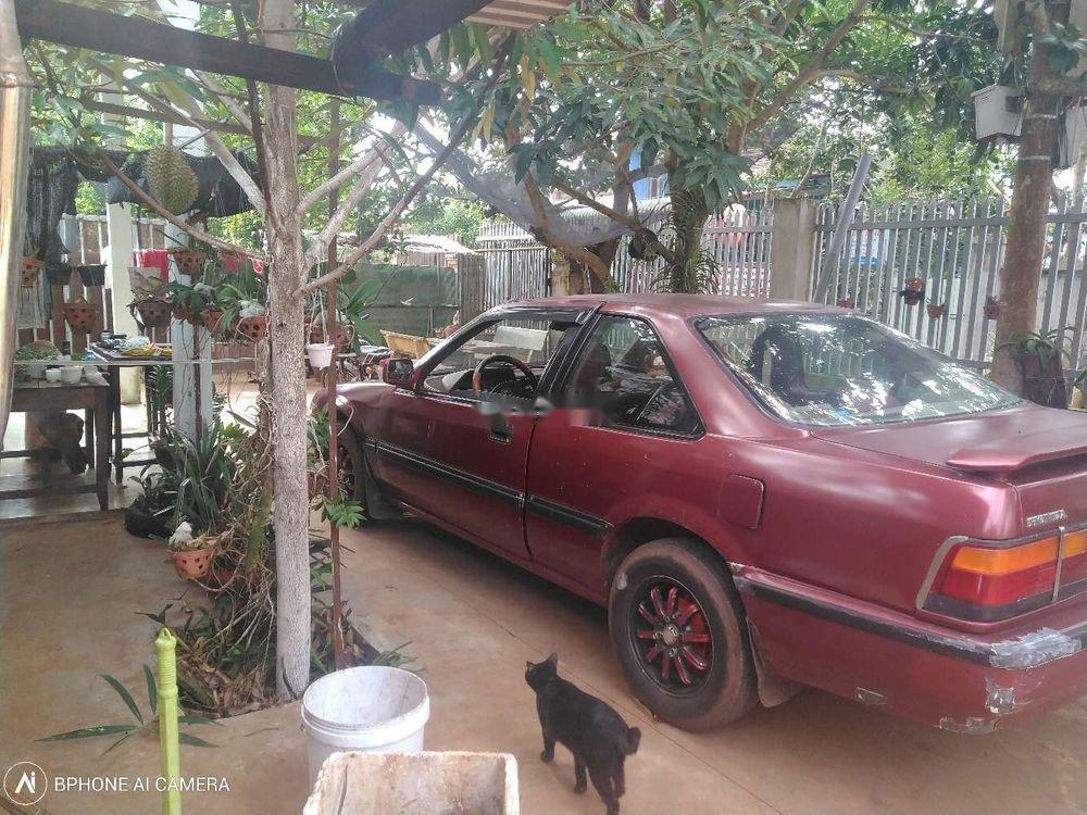 Cần bán lại xe Honda Accord sản xuất trước năm 1989, màu đỏ, nhập khẩu, máy móc đang rất ổn định-1
