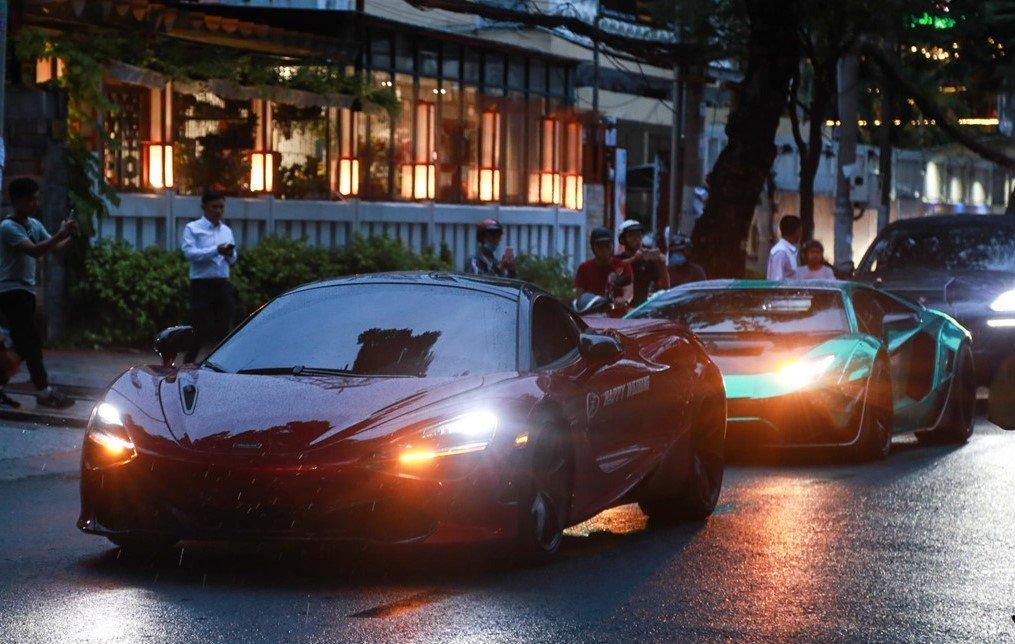 Dàn siêu xe Car Passion khuấy động không khí tại đám cưới Cường Đô La a1