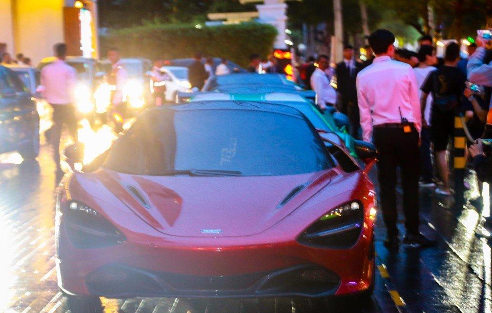 Soi dàn siêu xe Car Passion tại đám cưới Cường Đô La a3