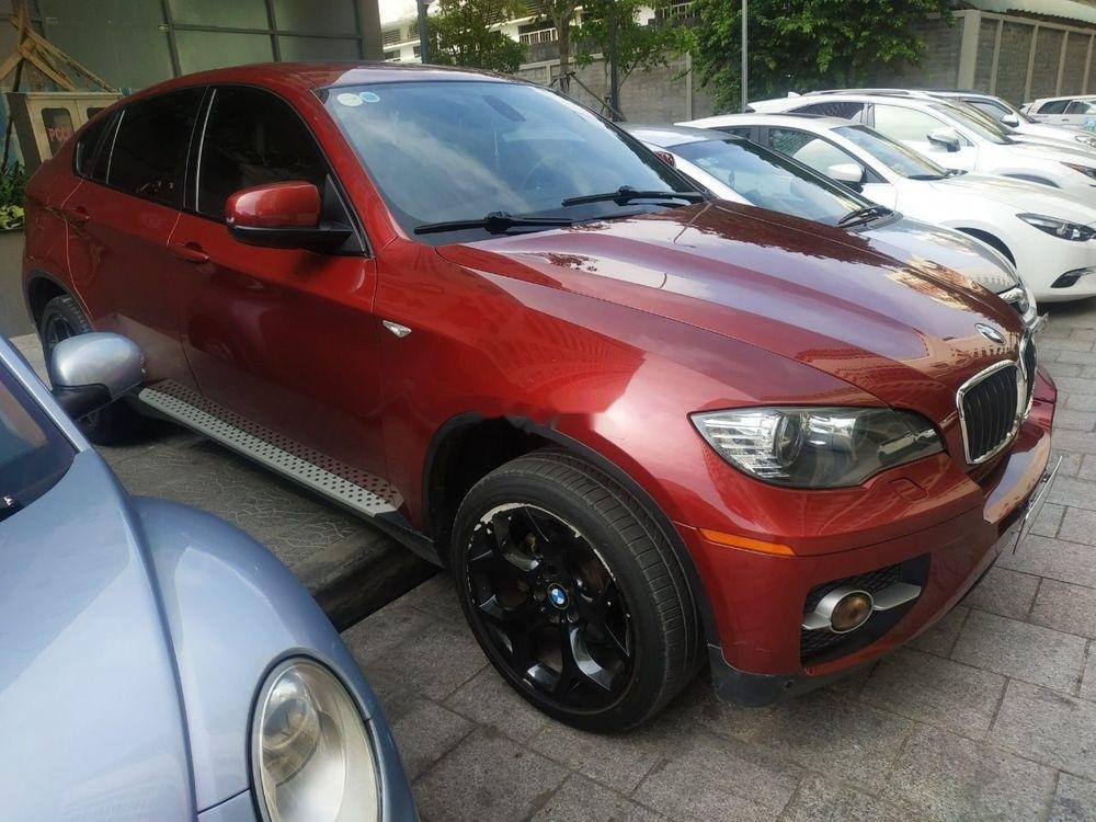 Xe BMW X6 sản xuất 2010, màu đỏ, nhập khẩu còn mới, giá 930tr (1)