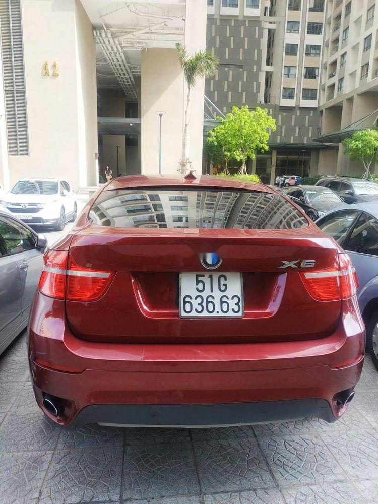 Xe BMW X6 sản xuất 2010, màu đỏ, nhập khẩu còn mới, giá 930tr (4)