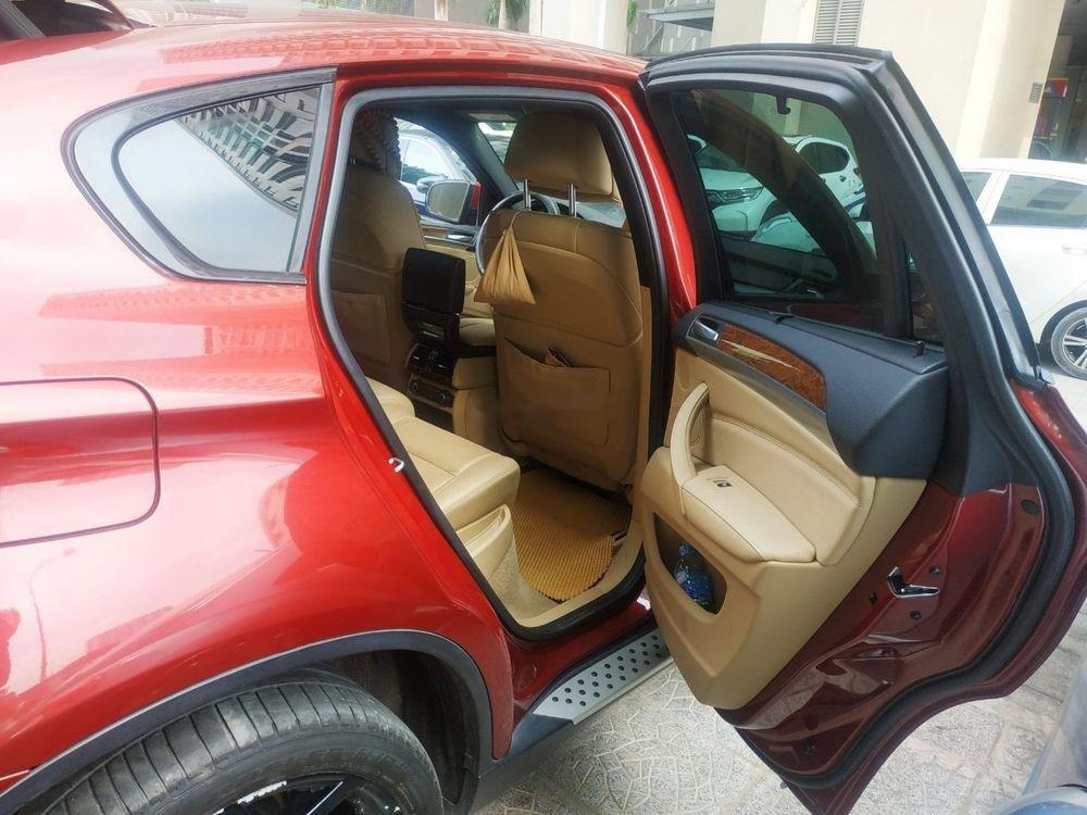 Xe BMW X6 sản xuất 2010, màu đỏ, nhập khẩu còn mới, giá 930tr (5)