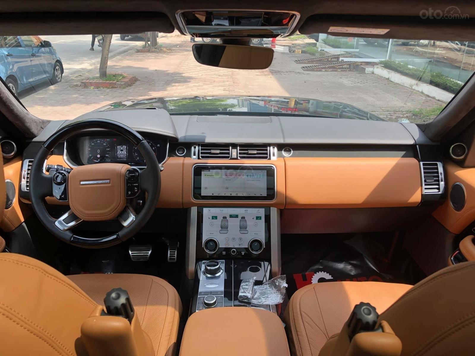 Bán Range Rover Autobiography LWB 5.0 2019, màu đen, nhập khẩu nguyên chiếc, full options-3