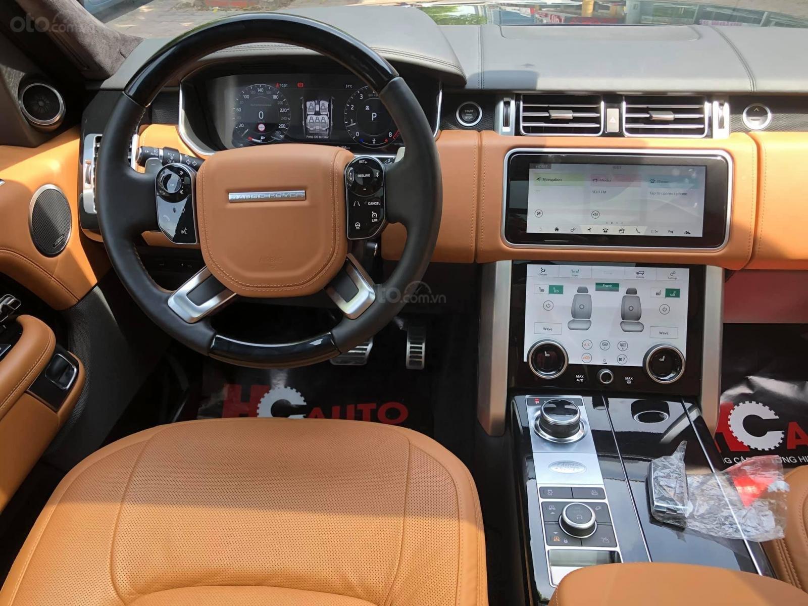 Bán Range Rover Autobiography LWB 5.0 2019, màu đen, nhập khẩu nguyên chiếc, full options-10