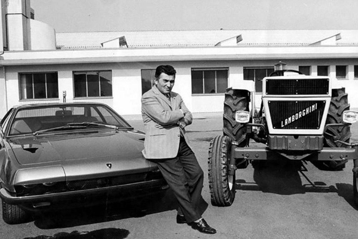 Ferruccio Lamborghini - cha đẻ của thương hiệu siêu xe Lamborghini đình đám.