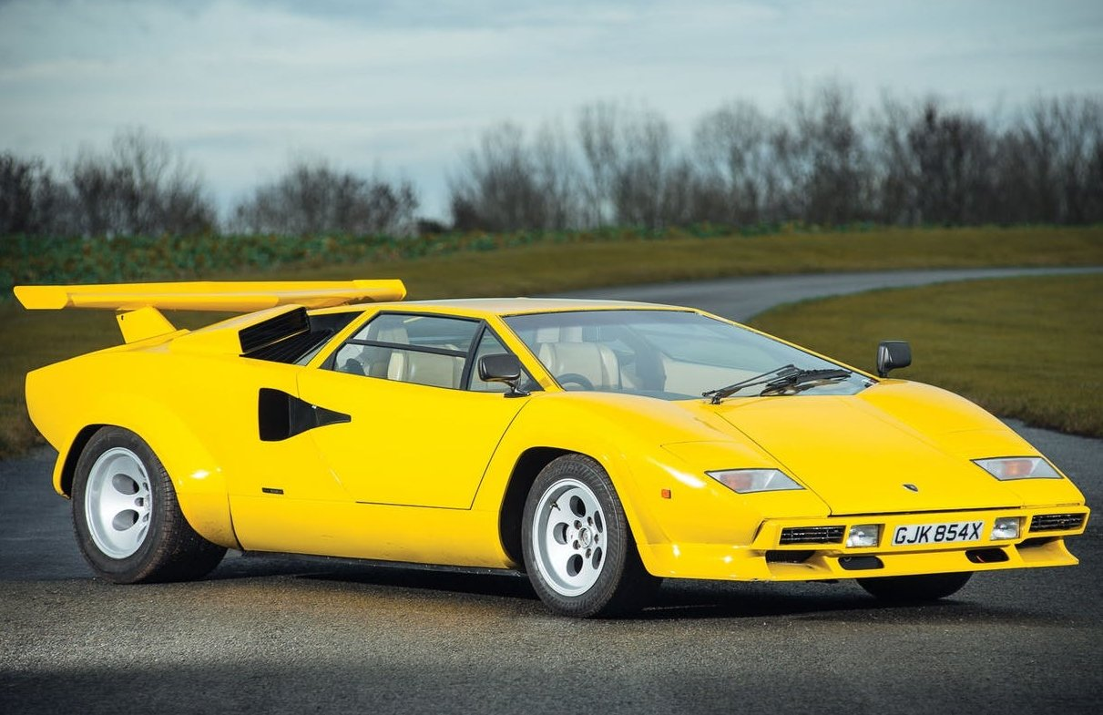Lamborghini Countach - 1 trong các dòng xe Lamborghini nổi bật nhất.