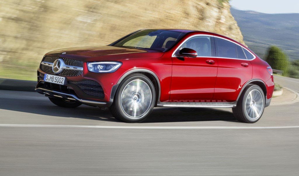 Mercedes-Benz GLC 2019 Coupe.