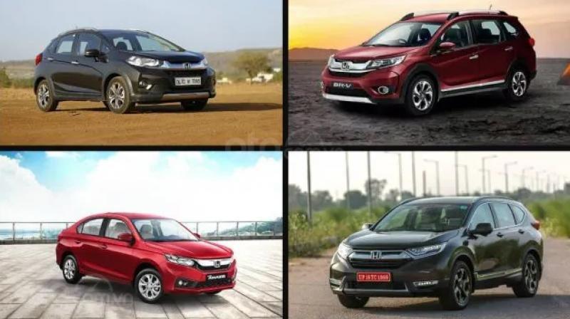 Honda có nhiều mẫu xe được tin dùng