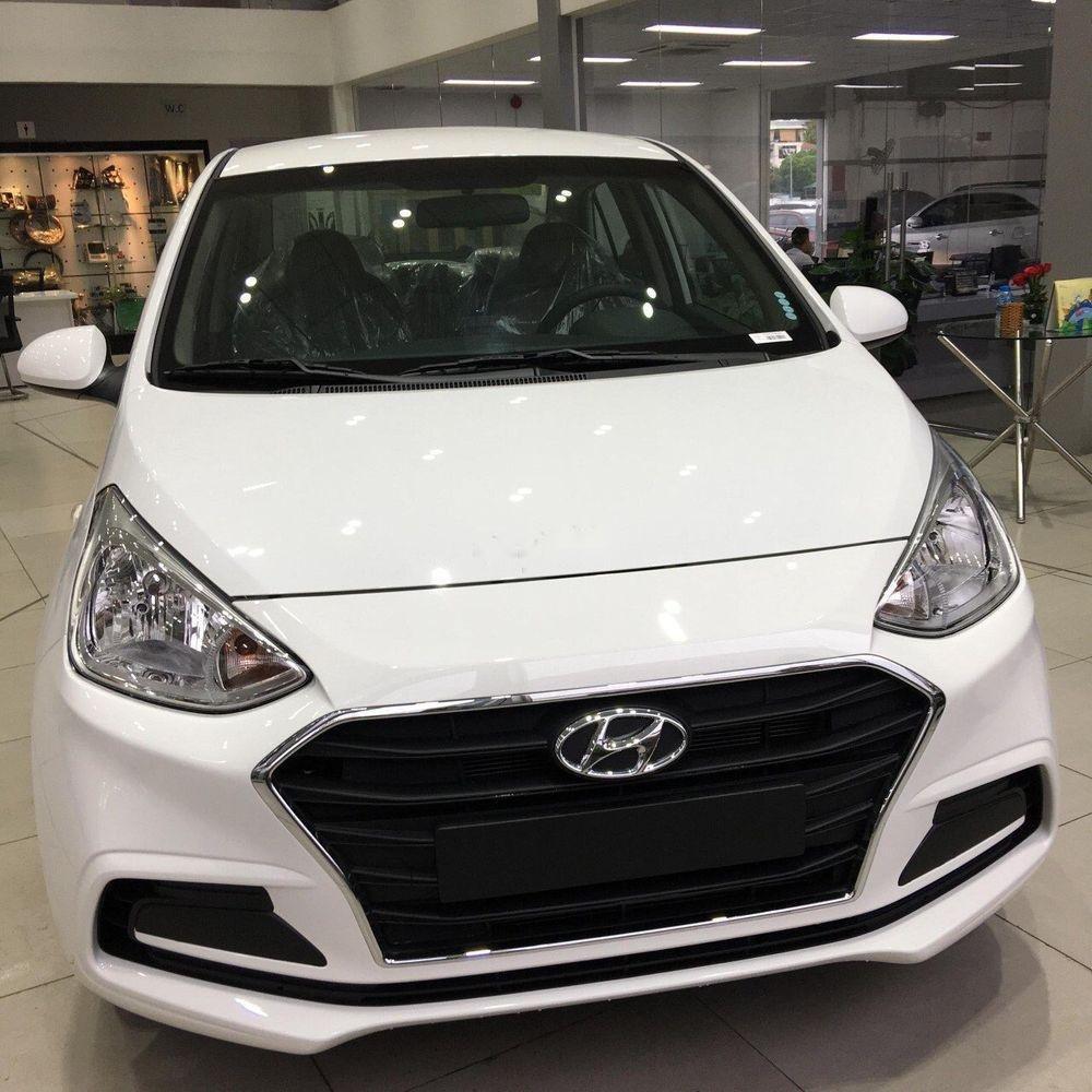 Bán xe Hyundai Grand i10 năm sản xuất 2019, màu trắng  (1)