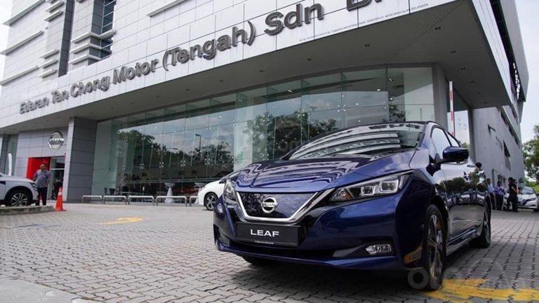 Nissan Leaf hoàn toàn mới cập bến Malaysia, giá hơn 1 tỷ đồng