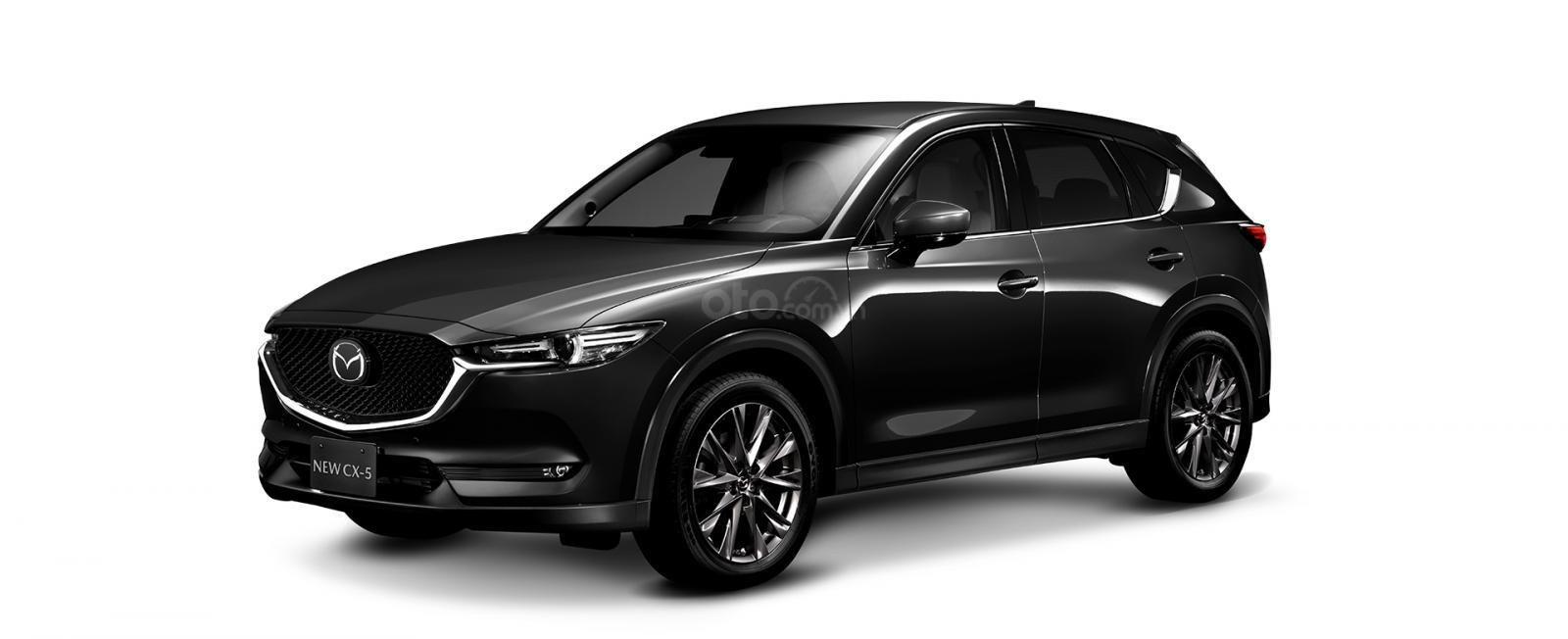 Đánh giá xe Mazda CX-5 2019: Màu Đen.