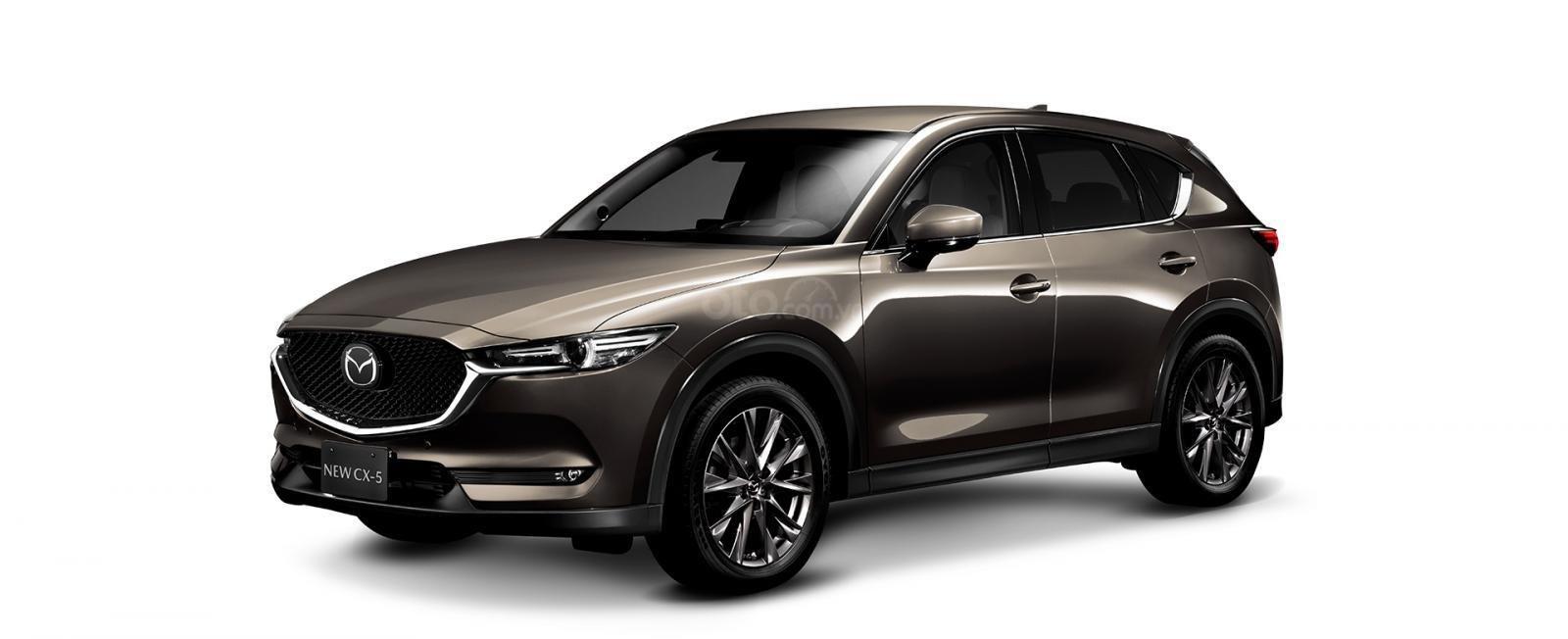 Đánh giá xe Mazda CX-5 2019: Màu Nâu.
