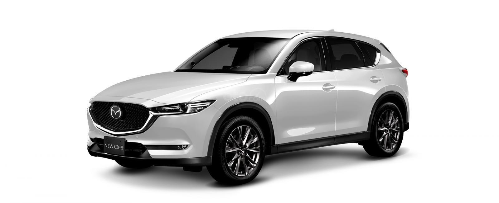 Đánh giá xe Mazda CX-5 2019: Màu Trắng.
